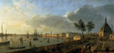 Jumblart claude joseph vernet vue du port de - Vue du port de bordeaux joseph vernet ...